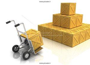 00500 300x218 - بسته های پستی همراه با دستگاه حمل بار