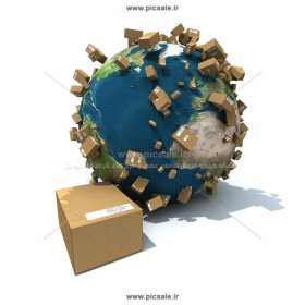 00608 280x280 - باربری بین المللی / تصویر فوق العاده تبلیغاتی / کره زمین / نقشه جهان