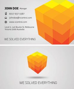 p150 250x300 - لایه باز کارت ویزیت روبیک خلاقانه و فکری