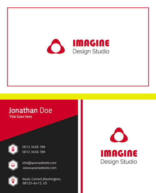 m49 - لایه باز کارت ویزیت / تجاری / کسب و کار / مدرن / معرفی شرکت