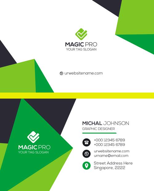 m59 - لایه باز کارت ویزیت / تجاری / کسب و کار / مدرن / معرفی شرکت
