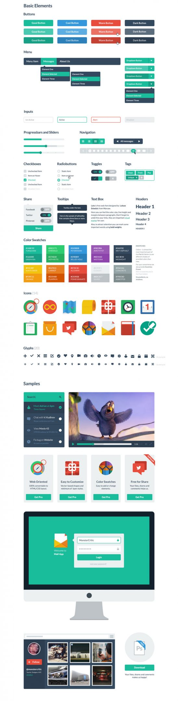 p518 548x2150 - وب المنت یا اجزای کاربردی گرافیکی ویژه طراحی وب اپلیکیشن ها