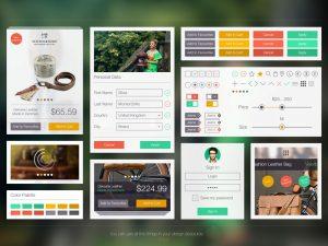 p524 300x225 - لایه باز گرافیک اپلیکیشن فروشگاهی فوق العاده زیبا / اینترفیس UX و UI موبایل اندورید و ios با صفحات کاربردی و متنوع