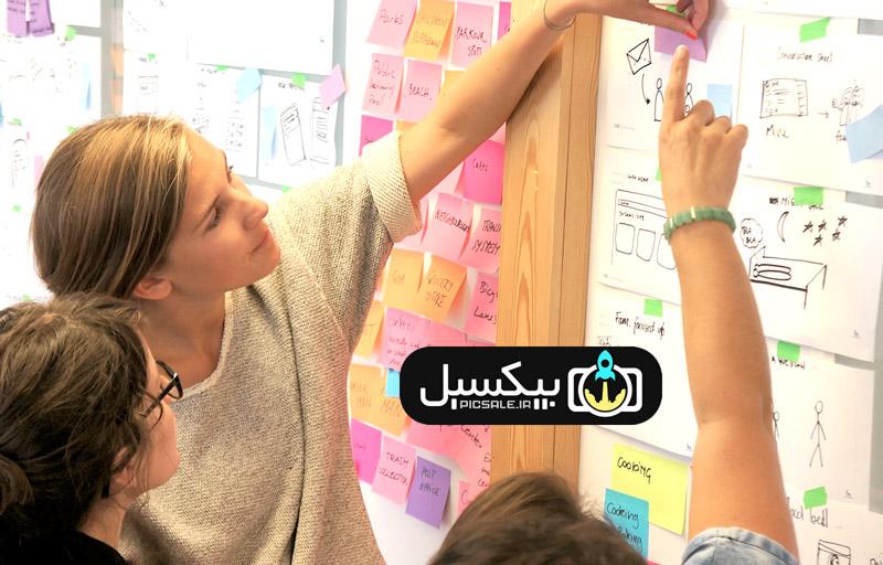 picsale.ir iran - اصول طراحی کارت ویزیت - چهار فصل کاربردی برای طراحی اصولی کارت ویزیت