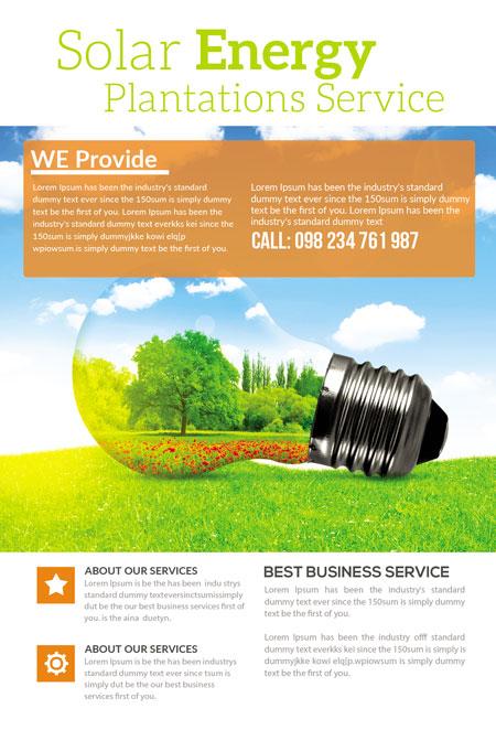 m280 - دانلود لایه باز تراکت یا پوستر الکتریکی و انرژی پاک و سبز