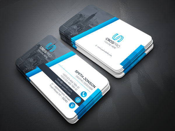 m298 - لایه باز کارت ویزیت / تجاری / کسب و کار / مدرن / معرفی شرکت
