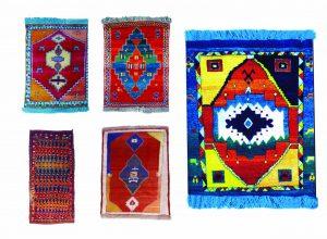 گبه 1 300x220 - دستبافت روستایی ایلیاتی هنرمعاصر نائیف طرح های ذهنی استیلیزه