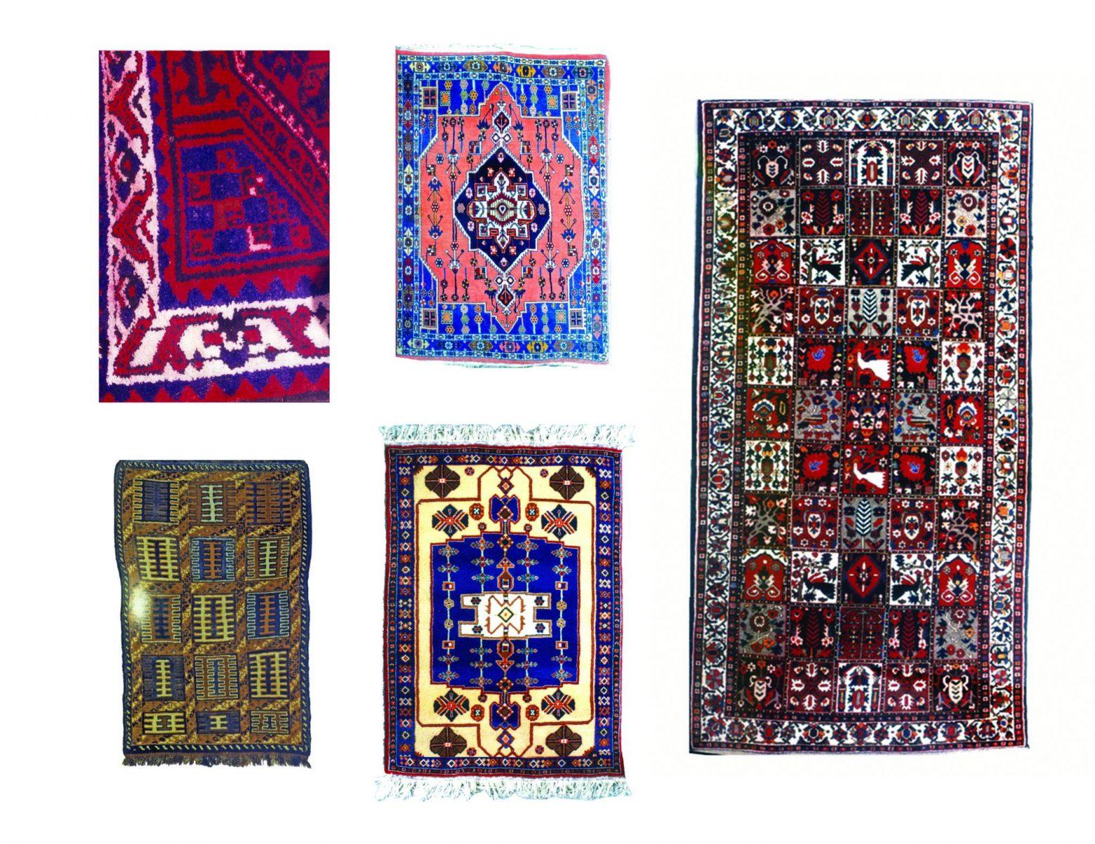 گبه 3 1560x1203 - دستبافت روستایی ایلیاتی هنرمعاصر نائیف طرح های ذهنی استیلیزه