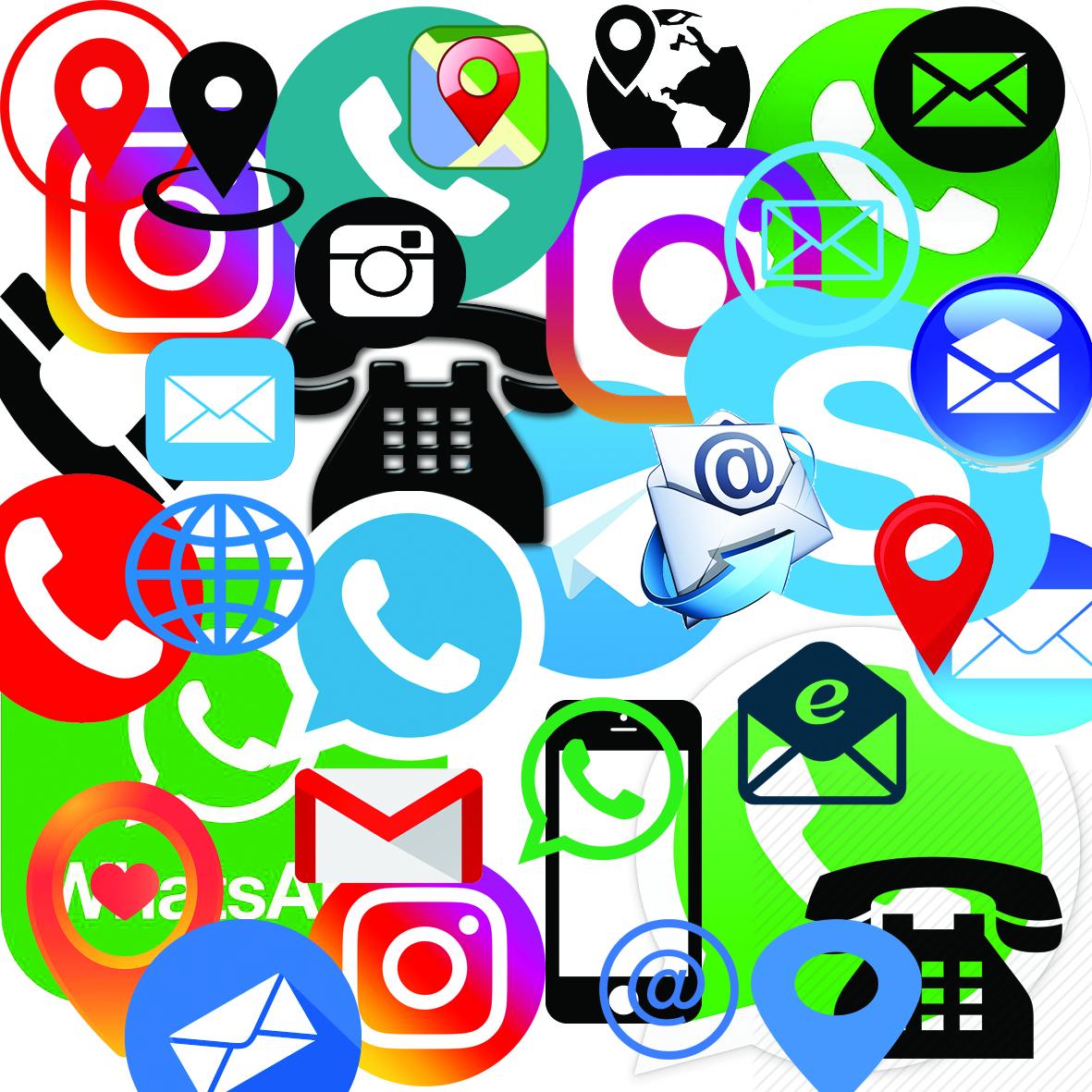 logo karbordi - دانلود لوگو آیکون واتساپ تلگرام اینستاگرام لایه باز