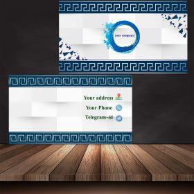 پیش نمایش 280x280 - کارت ویزیت 3D لایه باز