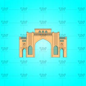 دروازه قرآن 01 280x280 - وکتور فایل لایه باز دروازه قرآن شیراز