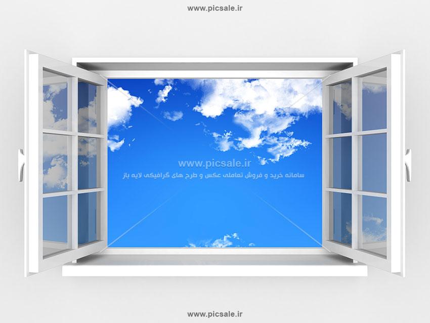 00116 - پنجره مدرن | آسمان
