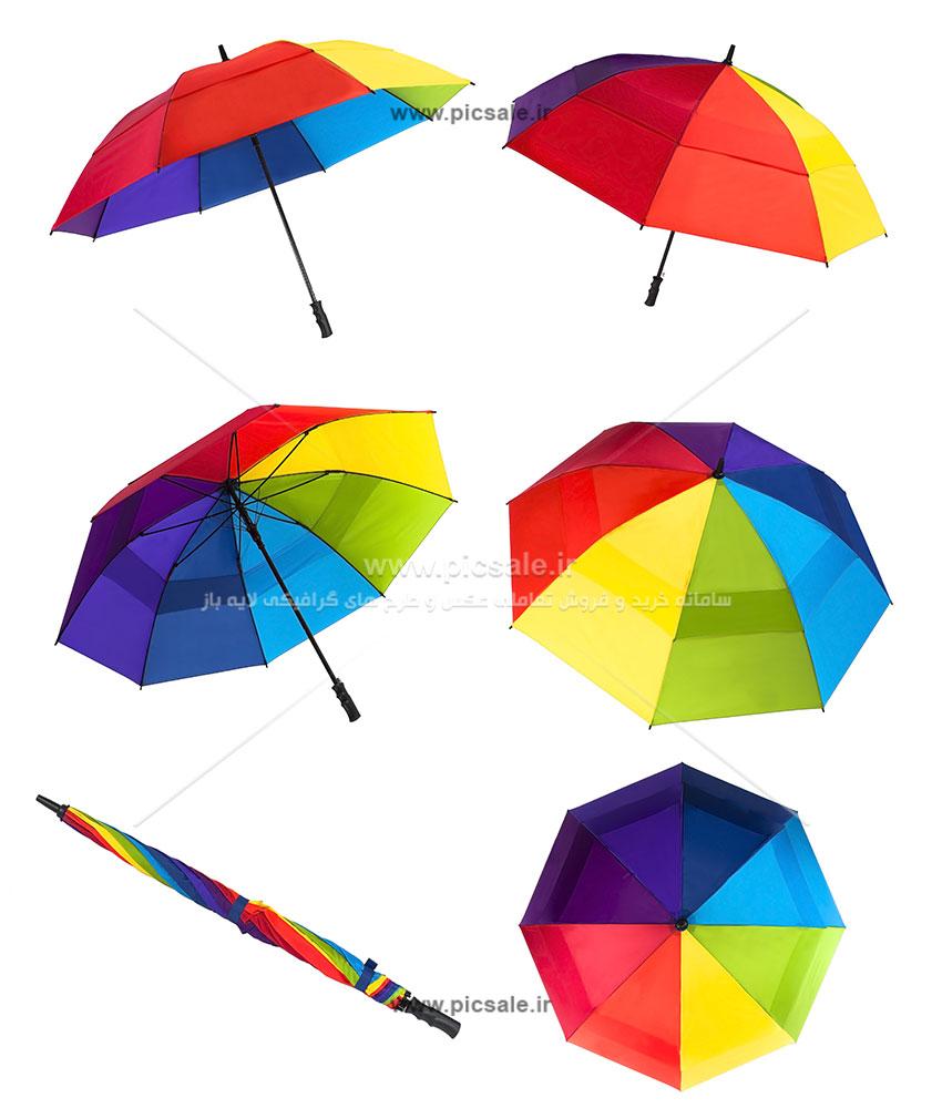 00241 - چترهای رنگی