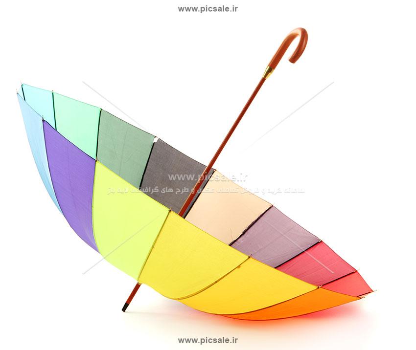 00244 - چتر رنگی وارونه