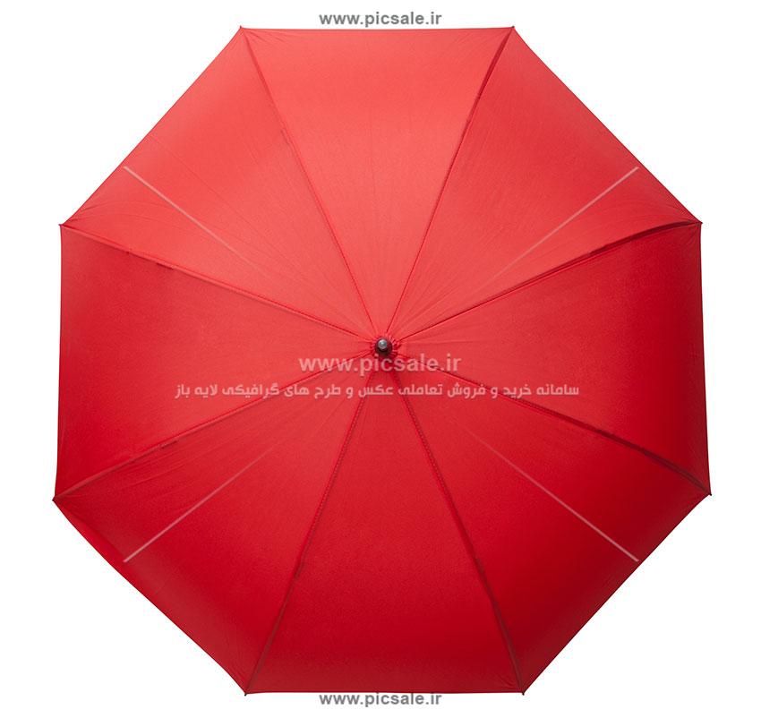 00245 - چتر قرمز باز