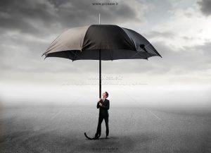 00252 300x217 - مرد کت و شلواری با چتر مشکی / سیاه بزرگ