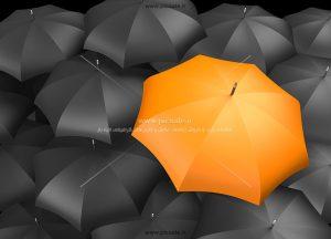 00253 300x216 - چترهای مشکی / سیاه و نارنجی