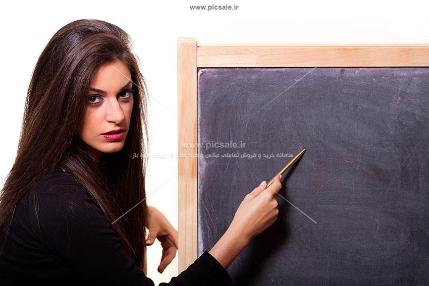 00368 - خانم / دختر معلم یا دانشجو زیبا