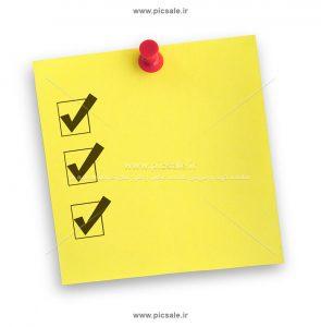 00412 295x300 - کاغذ یادداشت برنامه ریزی / تیک فعالیت ها / چک لیست