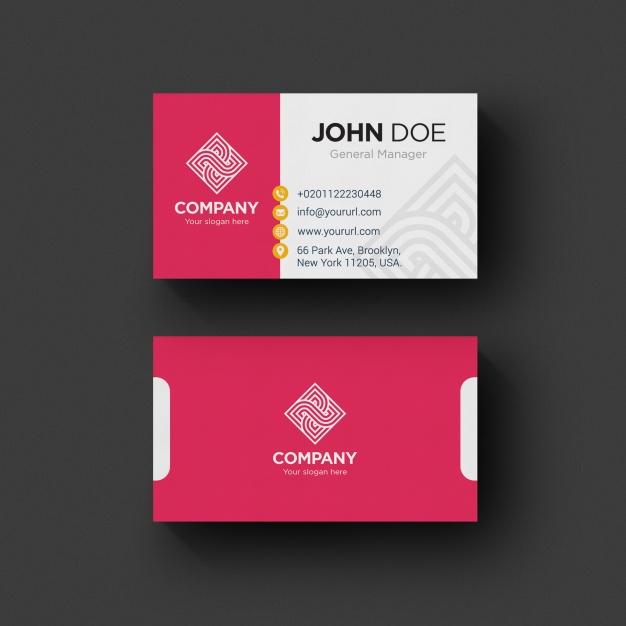 0563s - لایه باز کارت ویزیت / مدرن