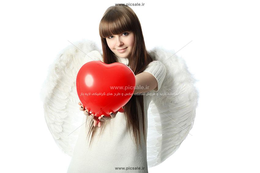 0010110 - قلب قرمز عاشقانه