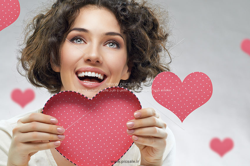 0010113 - قلب صورتی عاشقانه
