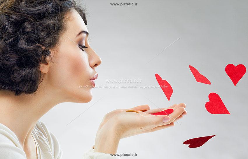 0010117 - قلب های قرمز عاشقانه