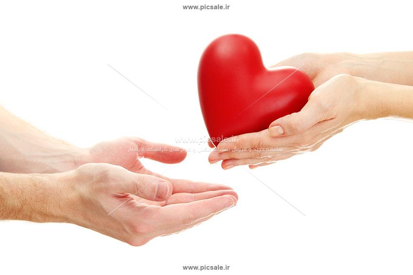 0010129 - قلب قرمز عاشقانه
