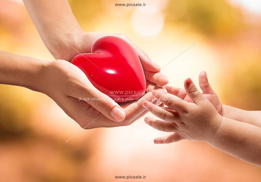 0010150 - قلب قرمز عاشقانه