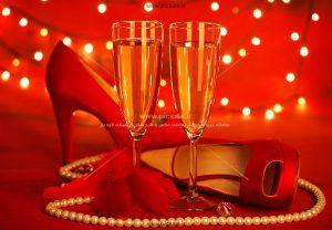 0010155 300x208 - کفش قرمز زنانه زیبا