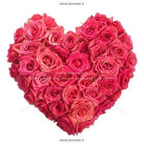 001054 280x280 - قلب با گلهای زیبا