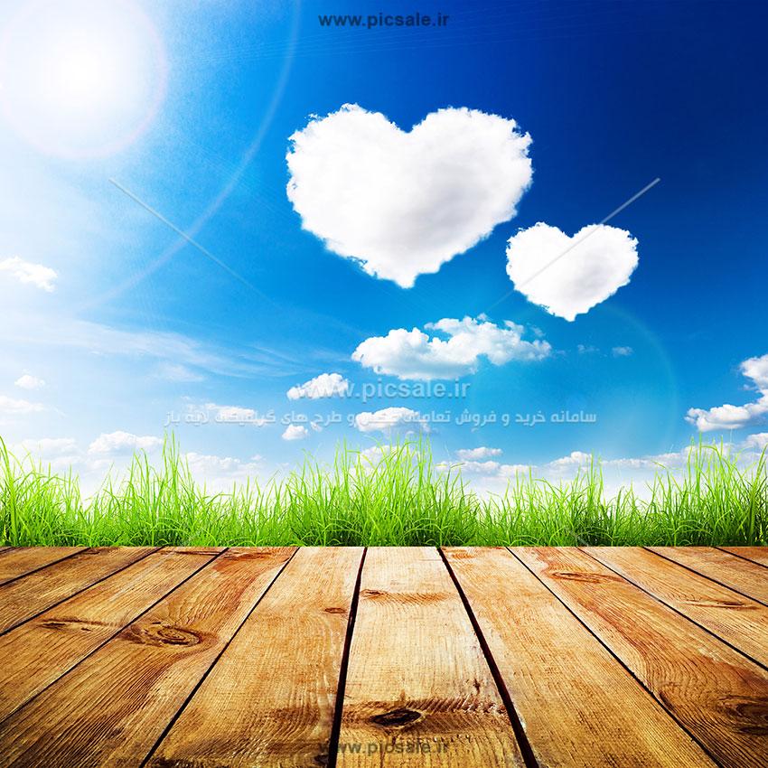 001058 - قلب سفید عاشقانه