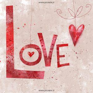 001079 300x300 - لاو نقاشی شده روی دیوار عاشقانه