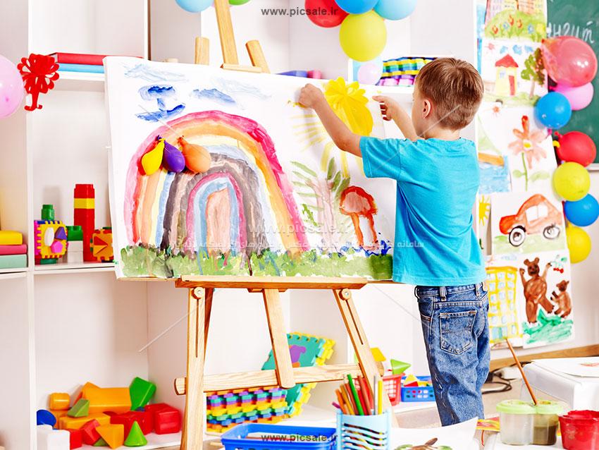 00275 - اتاق کودک و نقاشی