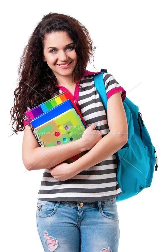 00756 548x834 - دختر شاد و زیبای دانشجو / دانشگاه