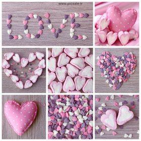 00898 280x280 - قلب های نمدی عاشقانه