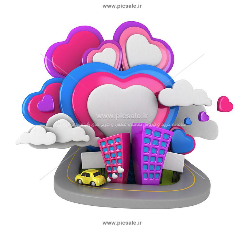 00912 - تصویرسازی قلب و خانه
