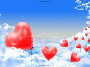 00916 300x225 - بادکنک های قلبی زیبا در آسمان