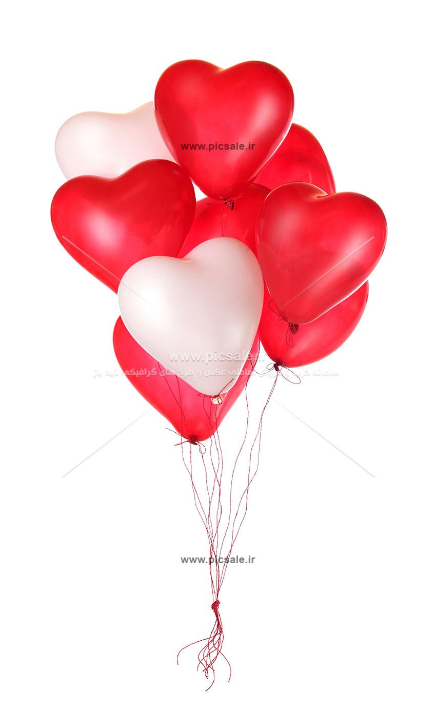 00972 - بادکنک های قلبی عاشقانه