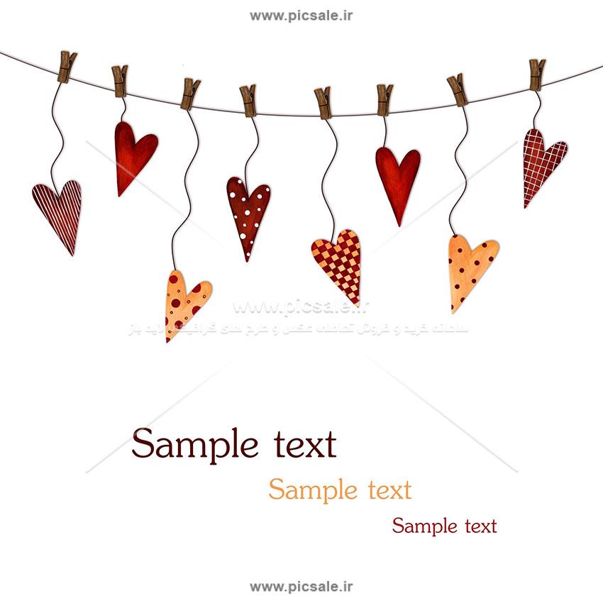 00983 - نقاشی قلب عاشقانه