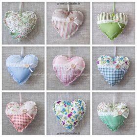 00995 280x280 - قلب های پارچه ای عاشقانه
