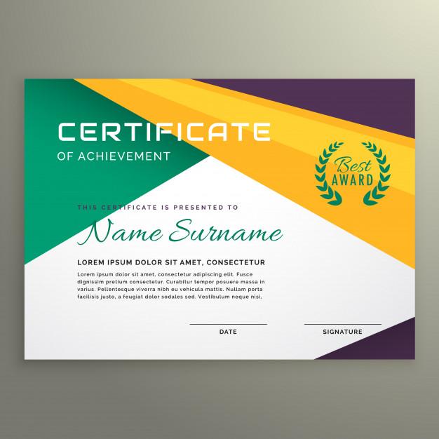 0460s - لایه باز قالب گواهینامه همایش / سمینار