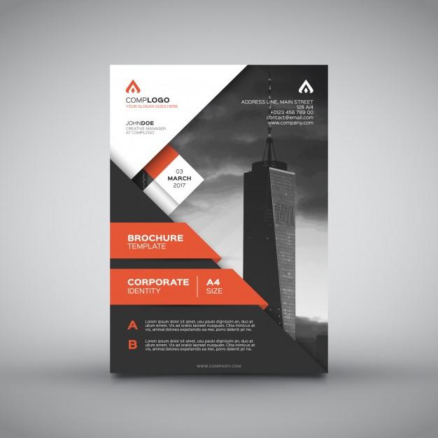 0510s - لایه باز پوستر، بروشور و کاتالوگ تجاری برج مسکونی بازرگانی
