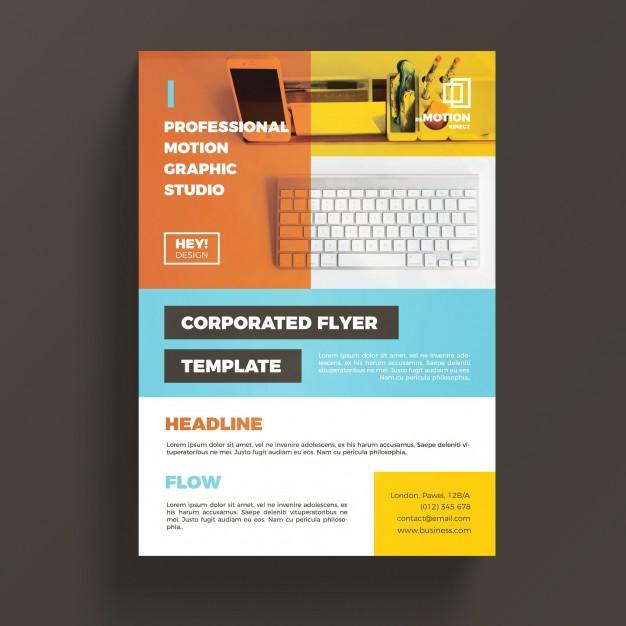 0519s - لایه باز بروشور و کاتالوگ تجاری