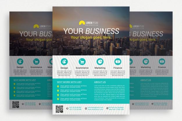 0575s - لایه باز بروشور و کاتالوگ تجاری / ساختمان