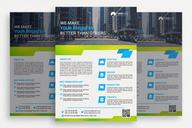 0578s - لایه باز بروشور و کاتالوگ تجاری / ساختمان