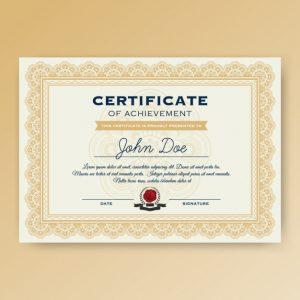 0831s 300x300 - دانلود لایه باز قالب گواهینامه