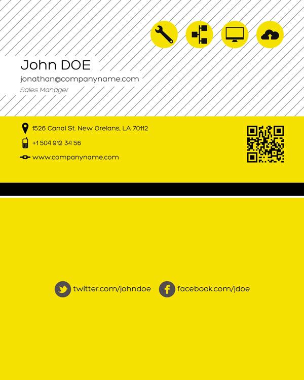 p124 - دانلود لایه باز کارت ویزیت / مدرن