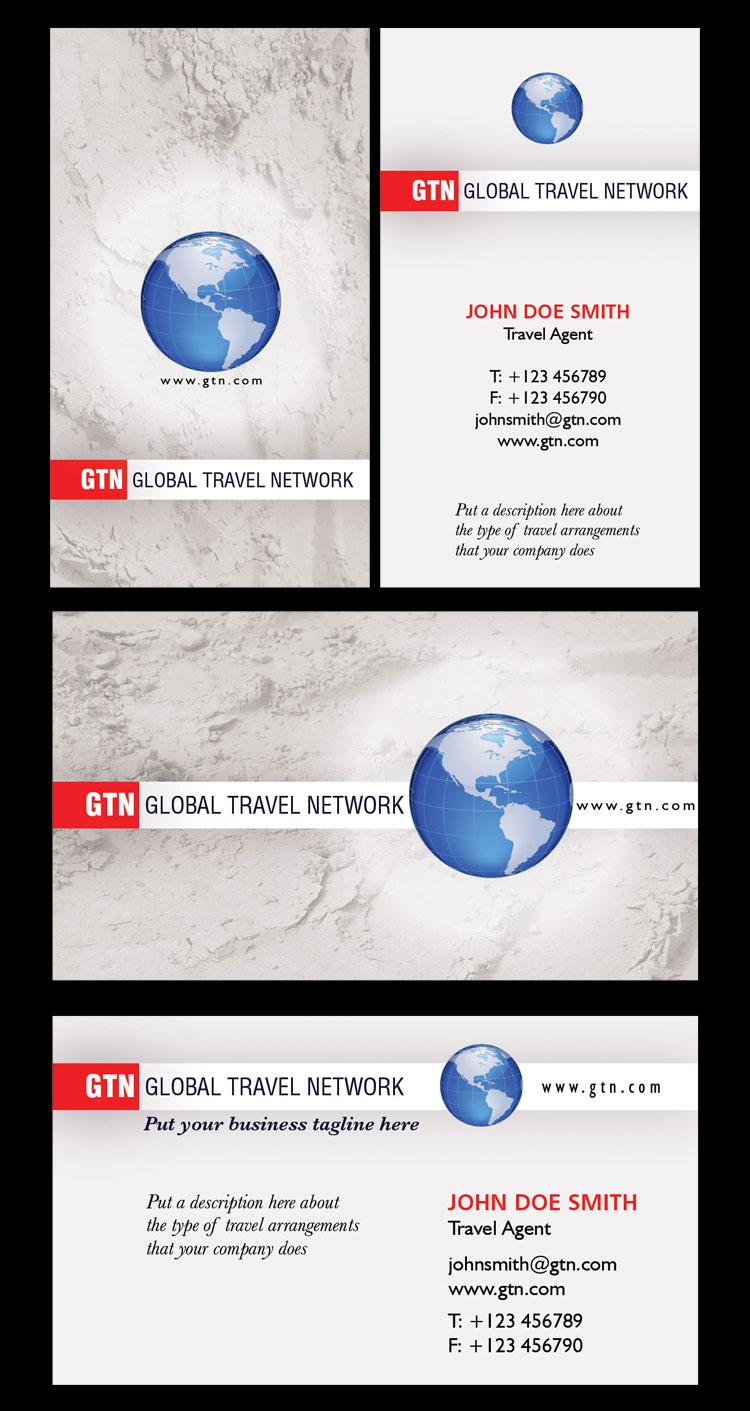 p140 - دانلود لایه باز کارت ویزیت آژانس مسافرتی