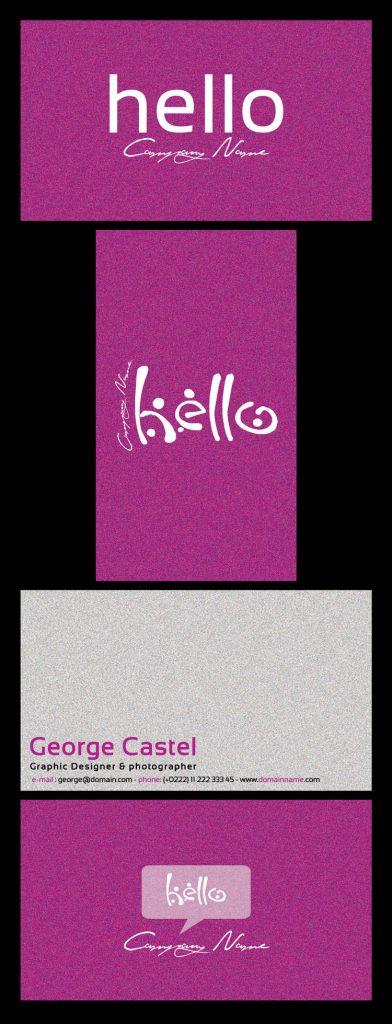 p141 392x1024 - دانلود لایه باز کارت ویزیت / مدرن